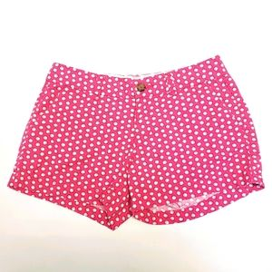 OLD NAVY Pink Printed Shell Twill Shorts